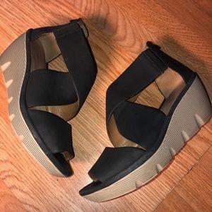 Clarks Clarene Glamour Sandal / Black US10 EUC